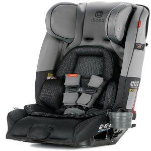 Best Convertible Car Seat-Diono Radian 3RXT, Dark Grey