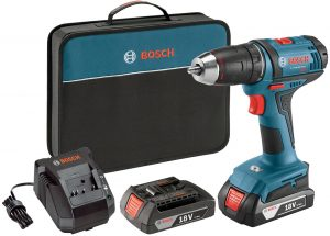 Cordless Electric Drill Driver Tool Bosch Power Kit DDB181