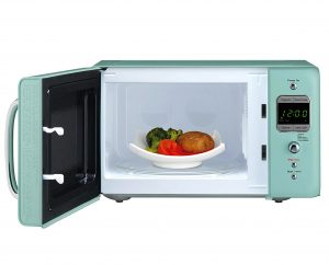 Daewoo KOR 7LREM Retro Countertop Microwave Oven