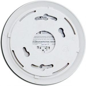 Hardwire with Front Load Battery Backup Smoke Alarm