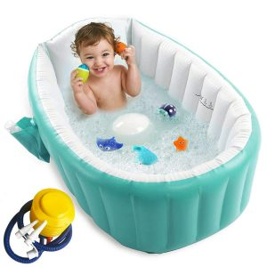 Baby Foldable Bathtub with Air Pump
