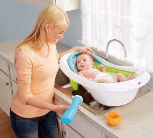 Baby Foldable Bathtub with Seat Tub