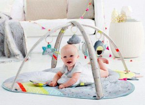 Baby Play Mat and Infant Activity Gym