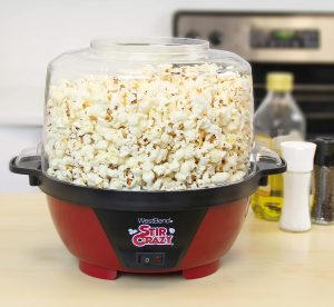 Electric Hot Oil Popcorn Popper Machine