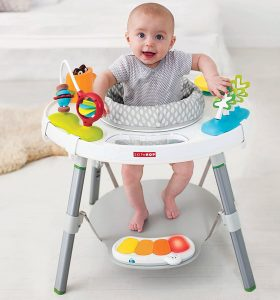 Explore and More Modern Baby Interactive Activity Center