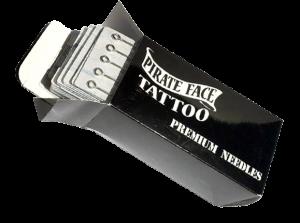 Pirate Face Tattoo Needles 100Pcs