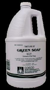 Tattoo Transfer Liquid Green Soap Bottle