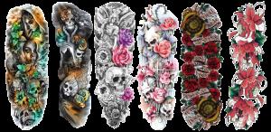 Temporary Tattoo Sheets Full Arm