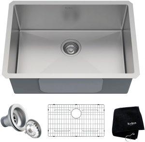 Kraus KHU100-26 Standart Pro 16 Single Bowl Kitchen Sink