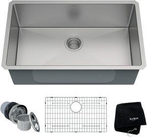 Kraus KHU100-30 Stainless Steel Kitchen Sink