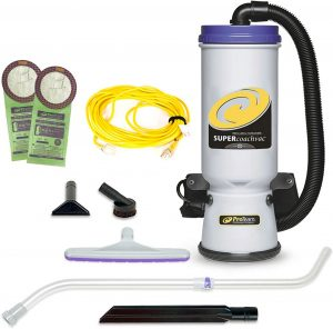 Super CoachVac Backpack Vacuum Cleaner