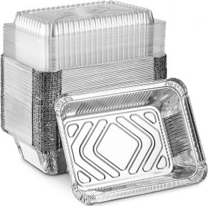Aluminum Foil Food Drip Containers