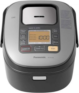 Rice Cooker with Induction Heating System and Pre-Programmed Cooking-Panasonic