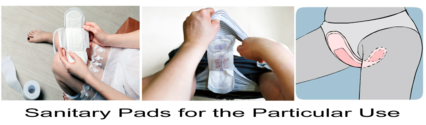 Sanitary Pads for the Particular Uses