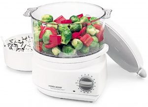 Handy Steamer Plus Food Steamer and Rice Cooker