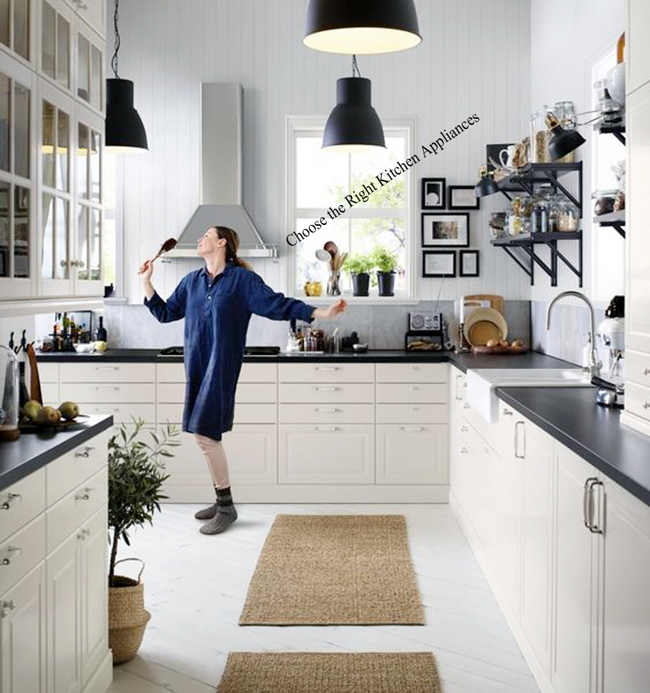 Choose the Right Kitchen Appliances