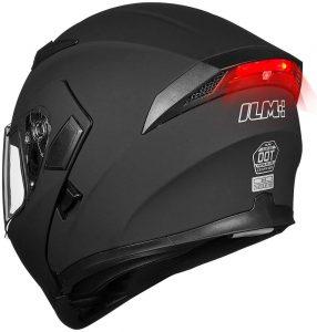 Motorcycle Dual Visor Flip up Full Face Helmet