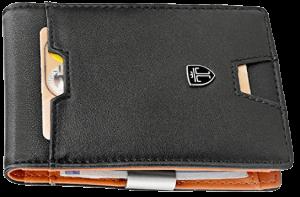 Slim Wallet with Money Clip & Card Holder