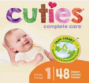 Baby Diapers nature Sensitive Skin