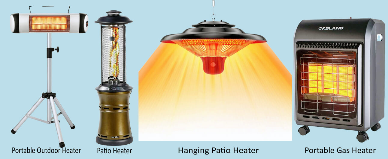 Electric VS Other Types of Patio Heaters