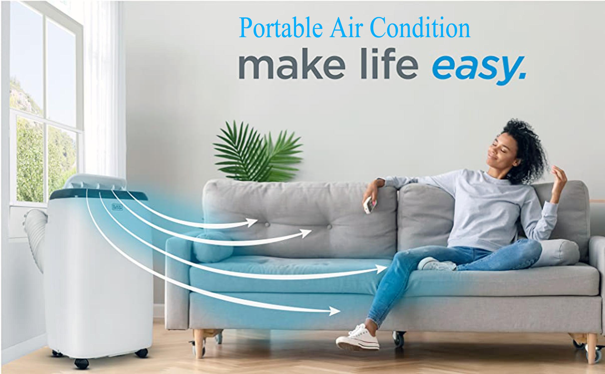 portable air condition make life easy