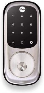 Key Free Touchscreen Door Lock